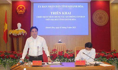 Khánh Hòa sẽ tiêm 300.000 liều vaccine Vero Cell cho 150.000 người