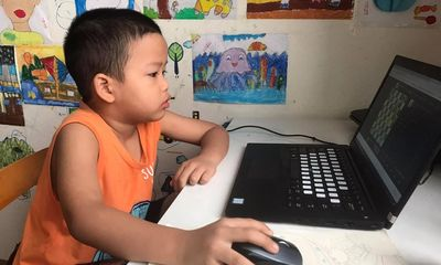 Học sinh tiểu học Bà Rịa - Vũng Tàu phải lùi lịch học trực tuyến vì thiếu thiết bị