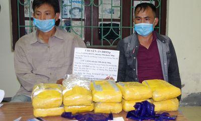 Điện Biên: Bắt giữ 2 đối tượng vận chuyển trái phép 60.000 viên ma túy tổng hợp