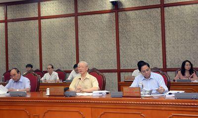 Bộ Chính trị cơ bản đồng tình với đánh giá của Ban Cán sự Đảng Chính phủ về công tác phòng chống dịch và phát triển KTXH