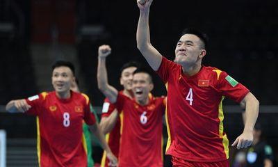 Hòa CH Czech 1-1, Việt Nam xuất sắc vào vòng 1/8 FIFA Futsal World Cup 2021