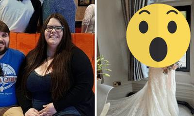 Sợ kết hôn vì nặng tới 170kg, cô gái nỗ lực giảm cân và màn xuất hiện ngoạn mục trong ngày cưới
