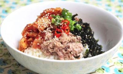 Mách bạn cách làm cơm trộn kim chi Hàn Quốc cay ngon hấp dẫn