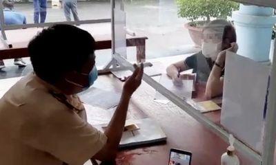Tước giấy phép lái xe của nữ tài xế ôtô đi ngược chiều cao tốc Nội Bài-Lào Cai