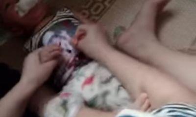 Xác minh video nữ giáo viên mầm non nghi bạo hành, nhét giẻ bẩn vào miệng bé trai 12 tháng tuổi