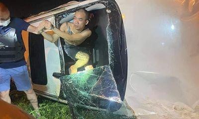 Vụ ô tô kéo lê xe máy trên đường, thông chốt kiểm dịch ở Hà Nội: Lời khai của tài xế