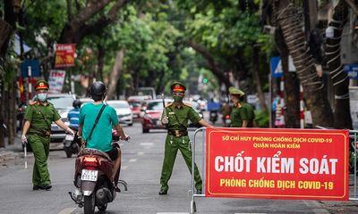 39 chốt phân vùng phòng dịch sau 6/9 tại Hà Nội được