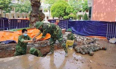 Phát hiện gần 400 vật thể nghi bom bi trong trụ sở UBND TP.Hải Dương