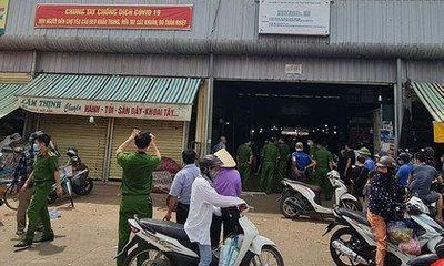 Vụ án mạng tại chợ đầu mối ở Thanh Hóa: Nghi phạm ra đầu thú