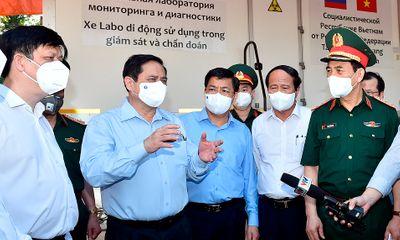 Thủ tướng vào tâm dịch Bắc Giang, kiểm tra, động viên lực lượng tuyến đầu