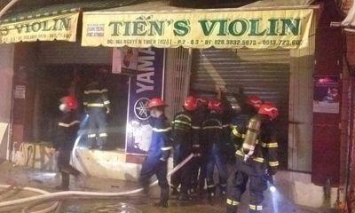 Vụ cháy nhà lúc rạng sáng ở TP.HCM: Danh tính 2 nạn nhân tử vong