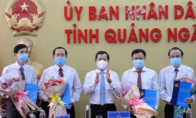 5 tân giám đốc sở ở Quảng Ngãi vừa được điều động, bổ nhiệm là ai?