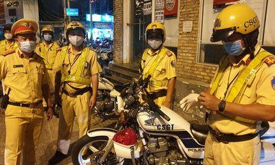 Từ hôm nay (1/6), CSGT TP.HCM xử phạt người đi đường không đeo khẩu trang