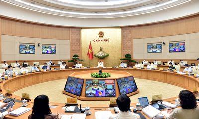 Thủ tướng Phạm Minh Chính chủ trì phiên họp Chính phủ thường kỳ tháng 5