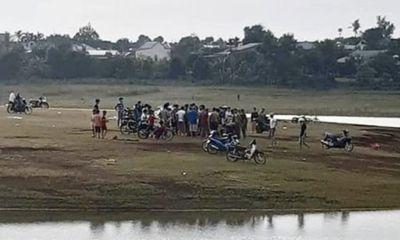 10 thiếu niên thả diều rồi rủ nhau tắm hồ, 2 em bị đuối nước tử vong