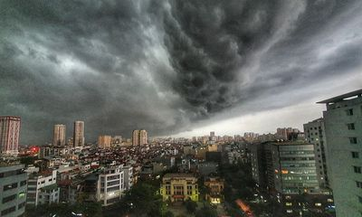 Tin tức dự báo thời tiết mới nhất hôm nay ngày 9/6: Hà Nội tiếp tục mưa dông