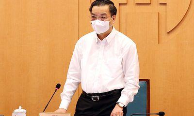 Chủ tịch TP.Hà Nội Chu Ngọc Anh: Chuẩn bị lộ trình có thể nới lỏng một số hoạt động