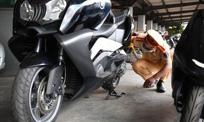 Vụ CSGT bắt giữ xe mô tô BMW trị giá gần nửa tỷ đồng: Chủ nhân khai mua trên mạng giá 100 triệu