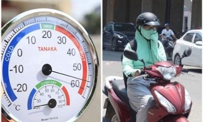 Hôm nay, Hà Nội nắng cháy da, nhiệt độ trên 41 độ C