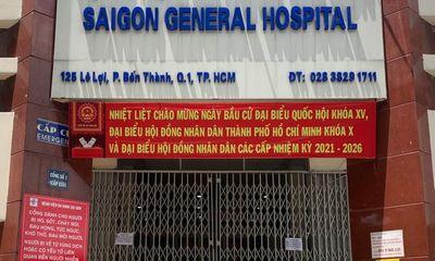 Phát hiện 5 ca dương tính với SARS-CoV-2, bệnh viện Đa khoa Sài Gòn tạm ngưng tiếp nhận bệnh nhân