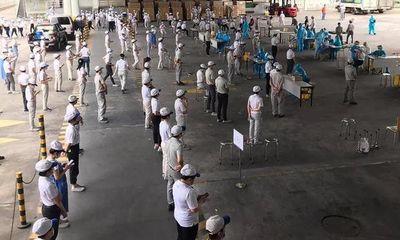 TP.HCM: Phong tỏa nhà máy hơn 4.000 công nhân ở Khu công nghệ cao