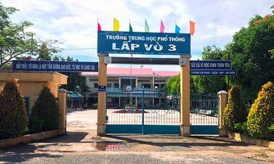 Hỏa tốc dừng một điểm thi tốt nghiệp THPT ở Đồng Tháp