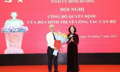 Điều động ông Nguyễn Văn Lợi giữ chức Bí thư Tỉnh ủy Bình Dương