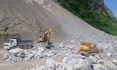 Nổ lớn kinh hoàng tại mỏ đá ở Hà Nam, 2 người tử vong