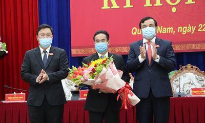 Tân Phó Chủ tịch UBND tỉnh Quảng Nam vừa được bầu là ai?
