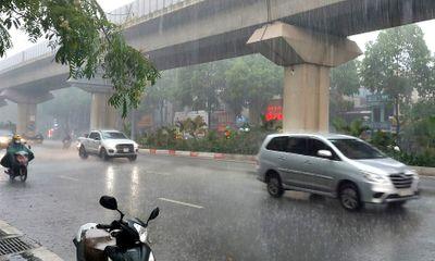 Tin tức dự báo thời tiết hôm nay 23/7: Hà Nội mưa rất to