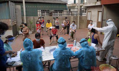 Sáng ngày 28/7, Hà Nội ghi nhận thêm 18 trường hợp dương tính SARS-CoV-2