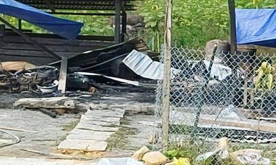 Cháy nhà lúc nửa đêm, 2 vợ chồng trẻ tử vong thương tâm