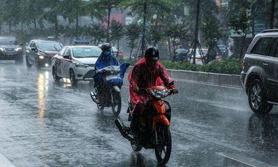 Tin tức dự báo thời tiết hôm nay 1/8: Bắc Bộ có mưa rào