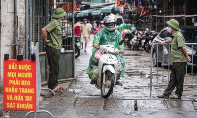 Phát hiện F0, chợ đầu mối Minh Khai tạm thời phong tỏa
