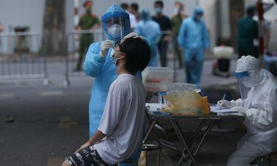 Trưa 3/8, Hà Nội ghi nhận thêm 23 trường hợp dương tính SARS-CoV-2, có 2 nhân viên siêu thị Vinmart