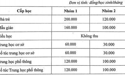 TP.HCM không tăng học phí năm học 2021 - 2022, bậc tiểu học được miễn học phí