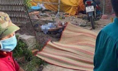 Vụ chồng lôi vợ ra sân sát hại, đâm 2 công an bị thương: Nhân chứng nói gì?