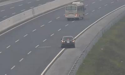 Chuyền làn không đúng nơi cho phép, đi ngược chiều trên đường cao tốc, tài xế bị phạt bao nhiêu tiền?