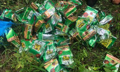 Bắt giữ 2 đối tượng vận chuyển 46kg ma túy đá từ Lào về Việt Nam: Thu giữ 1 khẩu súng ngắn đã lên đạn
