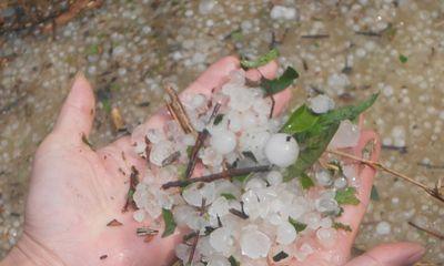 Tin tức dự báo thời tiết hôm nay 1/9: Cảnh báo mưa đá ở Nam Bộ