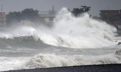 Tin tức dự báo thời tiết hôm nay 9/9: Bão Conson giật cấp 11 vào biển Đông, miền Bắc mưa rất to