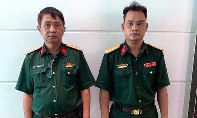 Tạm giữ 2 kẻ giả danh trung tướng, đại úy quân đội tại TP.HCM