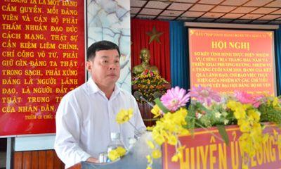 Chủ tịch huyện ở Bà Rịa- Vũng Tàu rút đơn xin nghỉ việc, đi làm lại