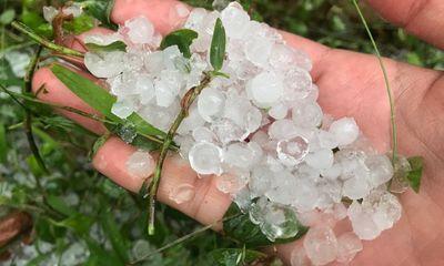 Tin tức dự báo thời tiết hôm nay 22/9: Cảnh báo mưa đá ở Bắc Bộ