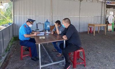 Lén chở người từ TP.HCM về Quảng Nam, tài xế bị lập biên bản xử phạt