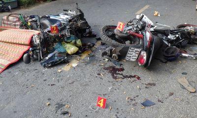 Tin tức tai nạn giao thông ngày 11/5/2021: Xe máy đối đầu, 2 người tử vong