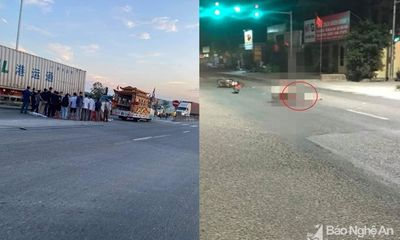 Tin tức tai nạn giao thông ngày 12/5/2021: Nam thanh niên tử vong cạnh xe máy trên Quốc lộ
