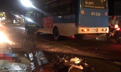 Xe máy tông trực diện xe buýt, 2 người đàn ông tử vong tại chỗ