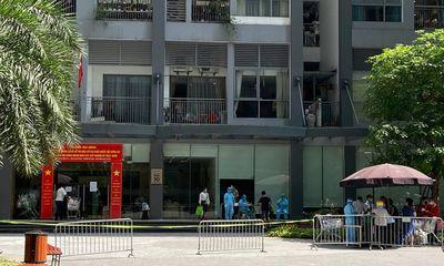 4 người trong gia đình ở Times City dương tính với SARS-CoV-2