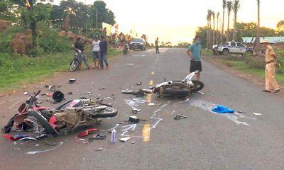 Tin tức tai nạn giao thông ngày 26/5: Xe máy đối đầu, 2 người chết